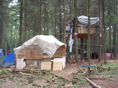 Erste Hütte